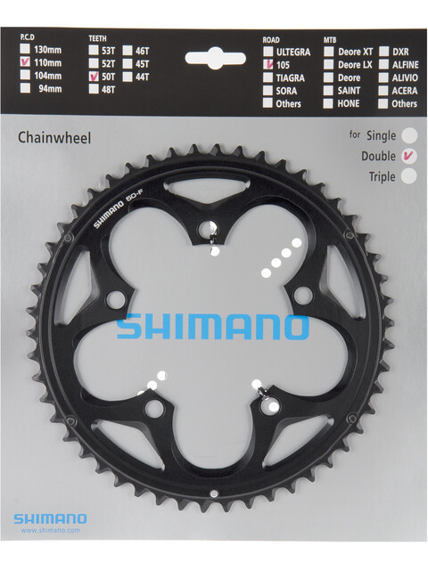 Shimano 105 FC-5750 Drev 10-växlad svart
